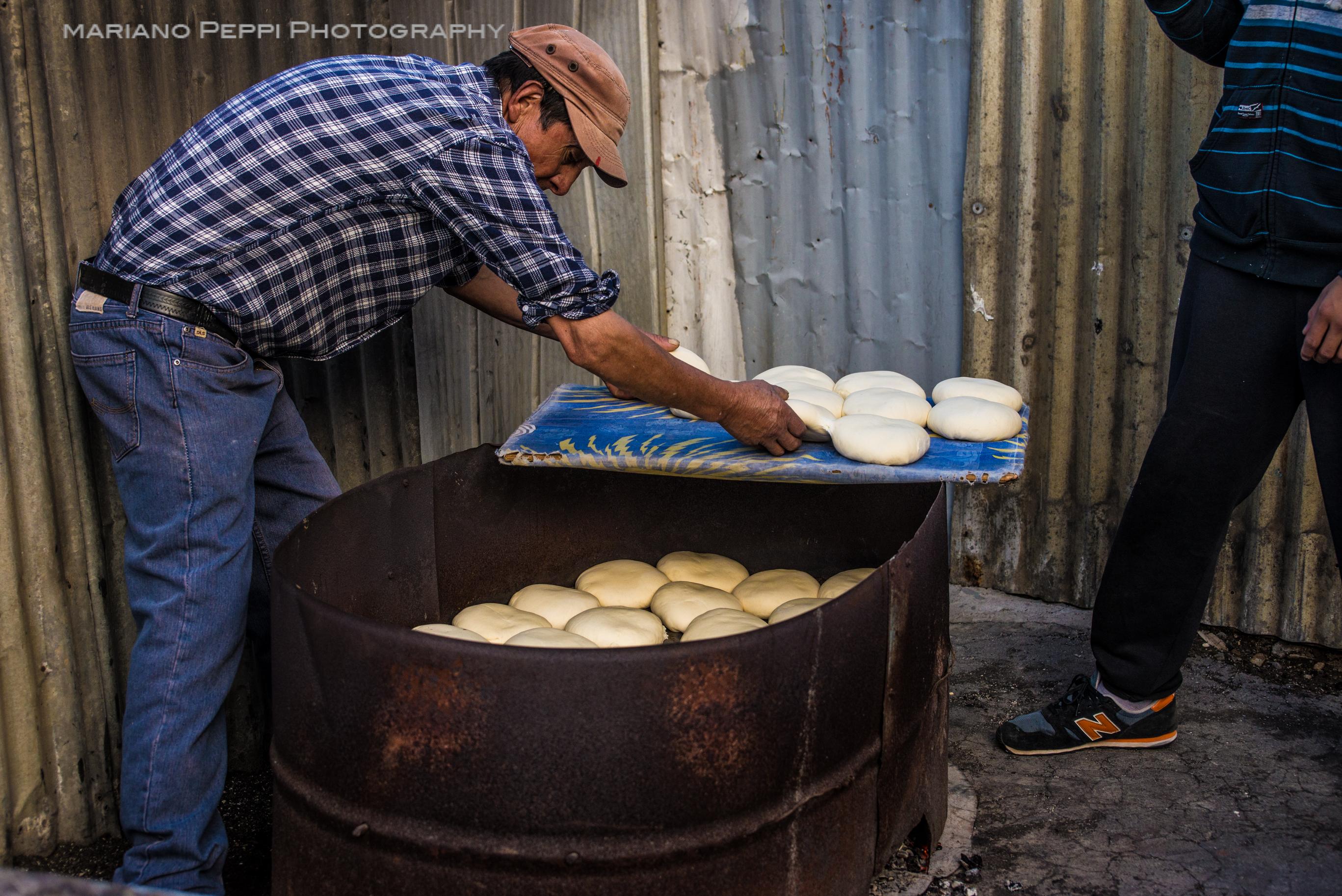 El gran horno, Calta tumbes, Bio Bio , Chile.