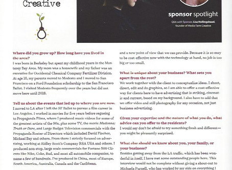 Lisa Hollingshead interview for Del Rio Magazine