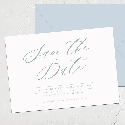 The Amelia Save the Date