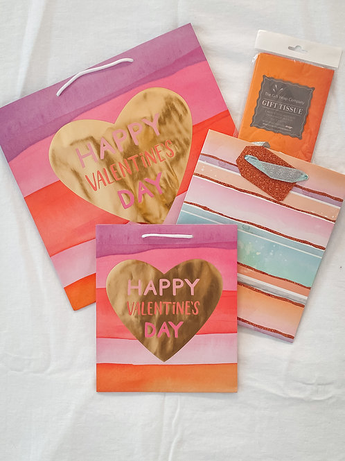 Valentine's Day Gift Bag Set