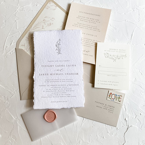 The Tiffany Letterpress Suite