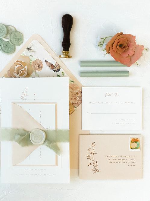The Magnolia Invitation Suite