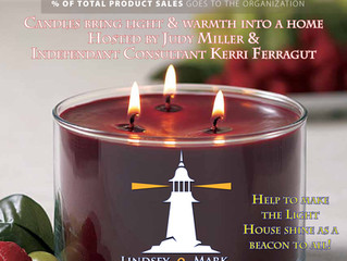 Candles for a Cause fundraiser Sunday Nov 24th at Montvale Firehouse