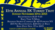 Ramapo 5K Turkey Trot Nov 10th to benefit Lindsey Stewart & Mark Lennon Memorial Fund