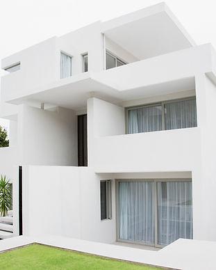 Maison moderne blanc