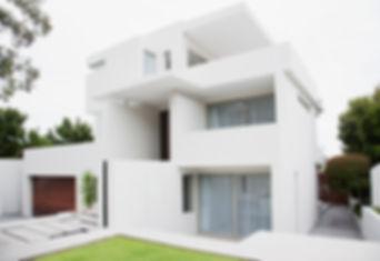 Modernes Weißes Haus