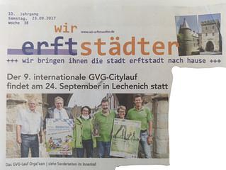 wir erfstädter: Ausführlichster Vorbericht zum 9. internationalen GVG Citylauf
