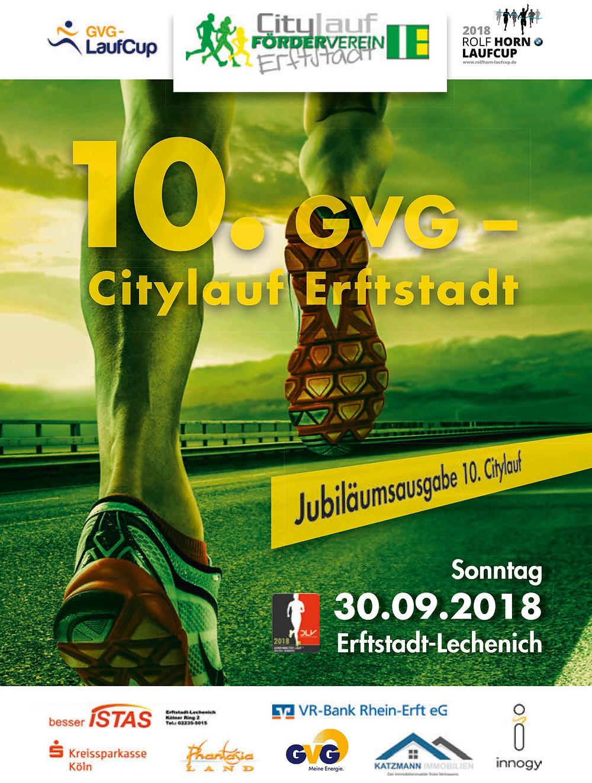 Citylauf Jubiläumsheft zum 10. Citylauf