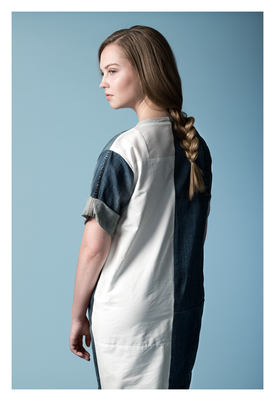 PocketPocket jeans/shirt dress