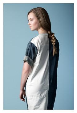PocketPocket jeans/shirt dress