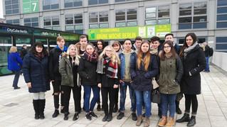 Besuch der Grünen Woche in Berlin