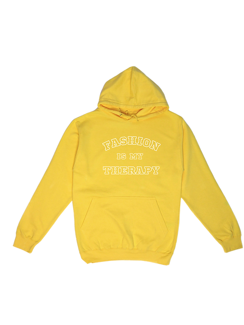 """HOODIE Unisexe Fashion Therapy """"College Light"""""""