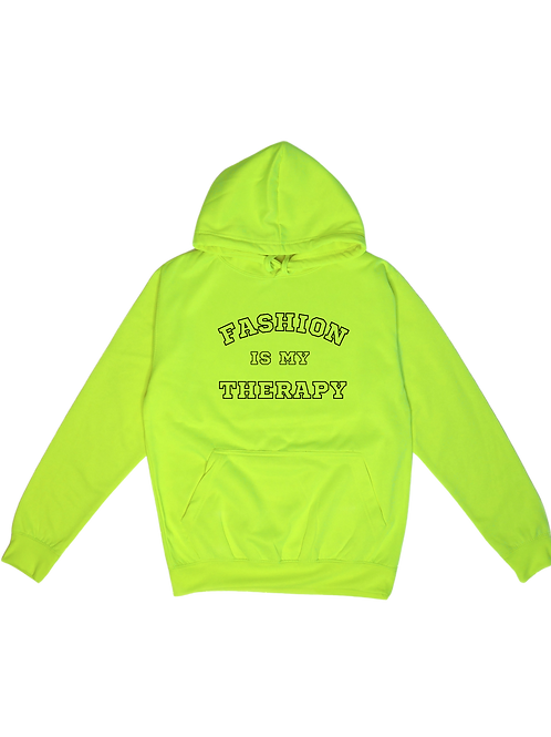 """HOODIE FLUO Unisexe Fashion Therapy """"College Light"""""""