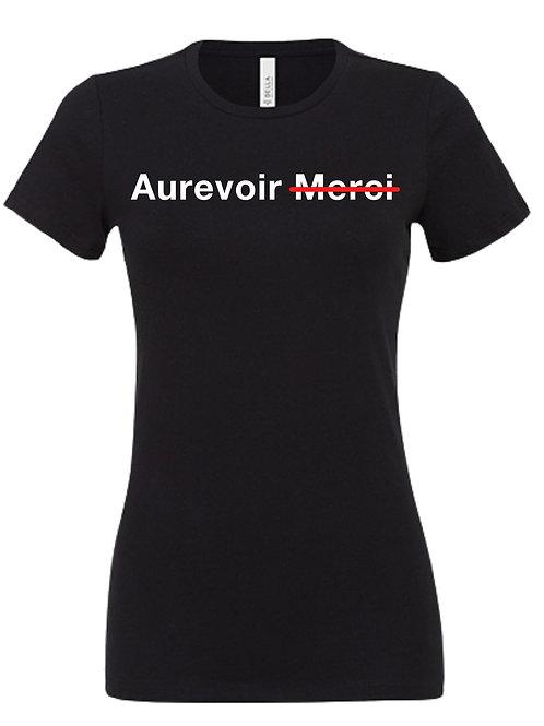 T-SHIRT Femme Aurevoir Merci