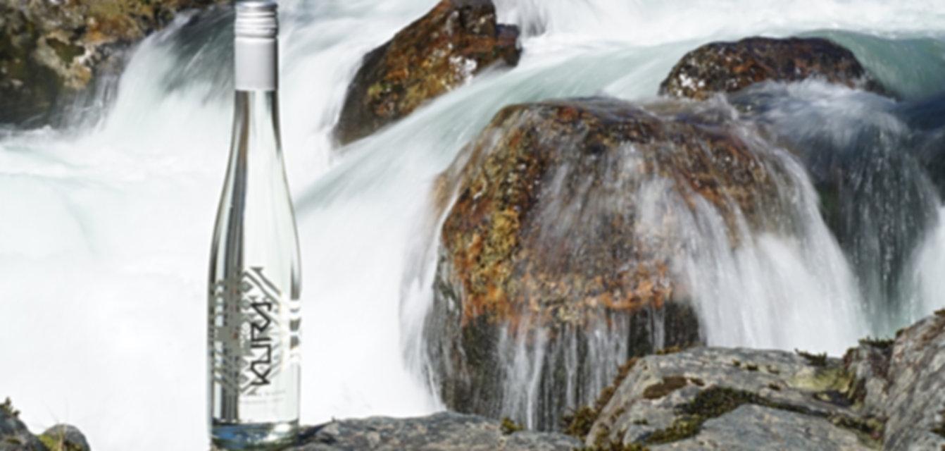 Agua mineral premium Kura Native Water Curarrehue Chile Patagonia