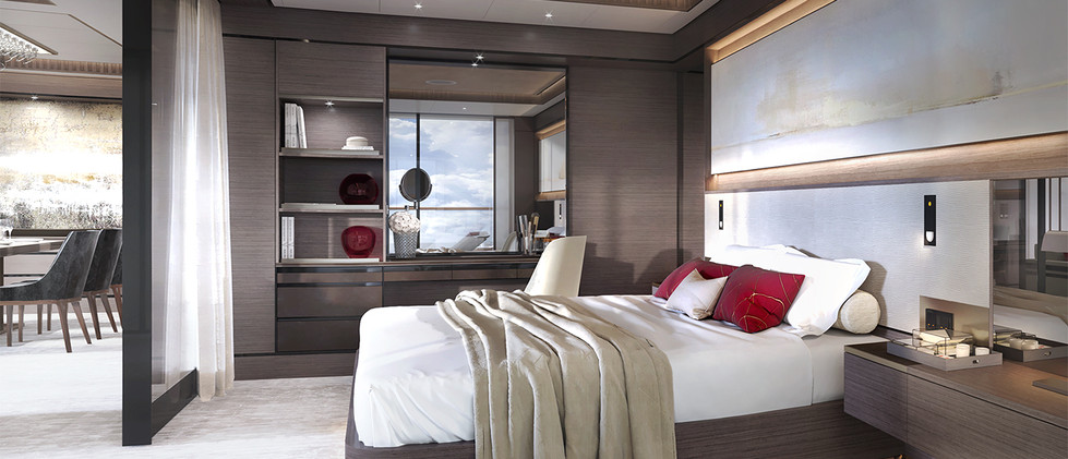 The Owners Suites Bedroom