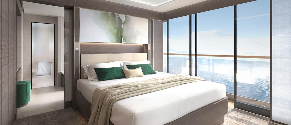 The View Suite Bedroom