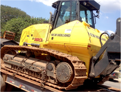 Trator de Esteiras New Holland D-180