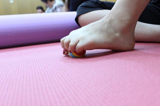 足指の変形を整える