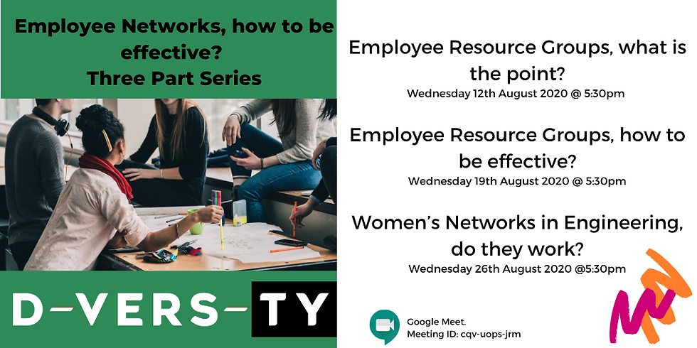 Part 1 - Employee Resource Groups, what is the point?   Employee Networks, how to be effective?