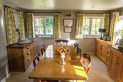 Picture of the kitchen where breakfast is served at the Bed and Breakfast