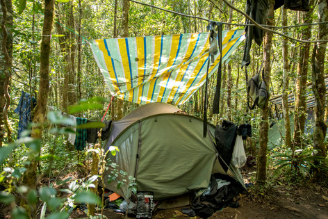 My tent for 6 weeks
