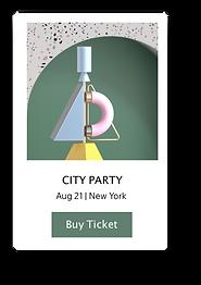 Bilet satın almak için bir web sitesi