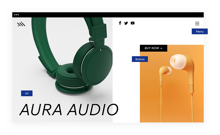Headphones website