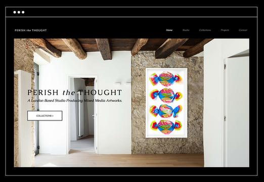 Perish The Thought | Mixed Media Artworks