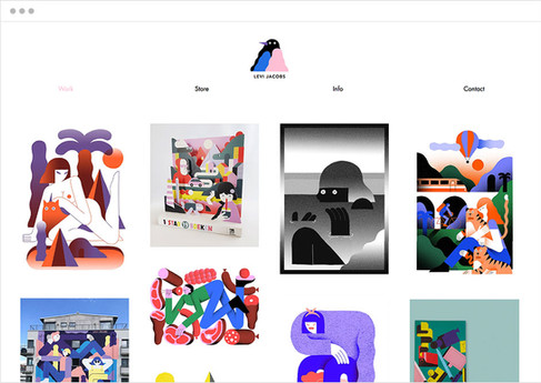Levi Jacobs | Illustratore e creatore di stampe