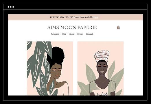 Aims Moon Paperie | Shop