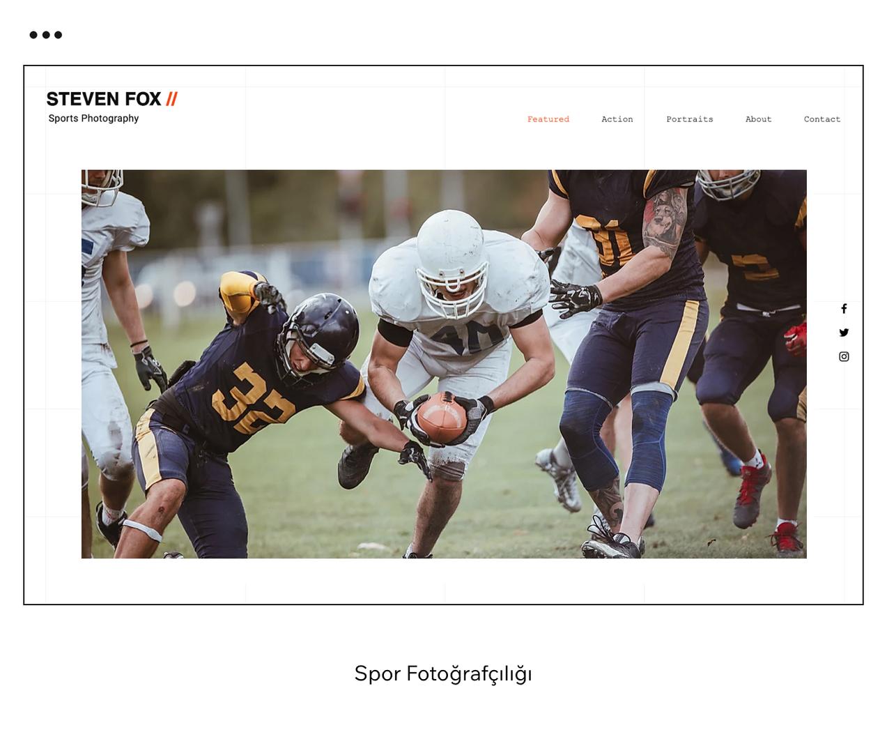 Spor Fotoğrafçılığı