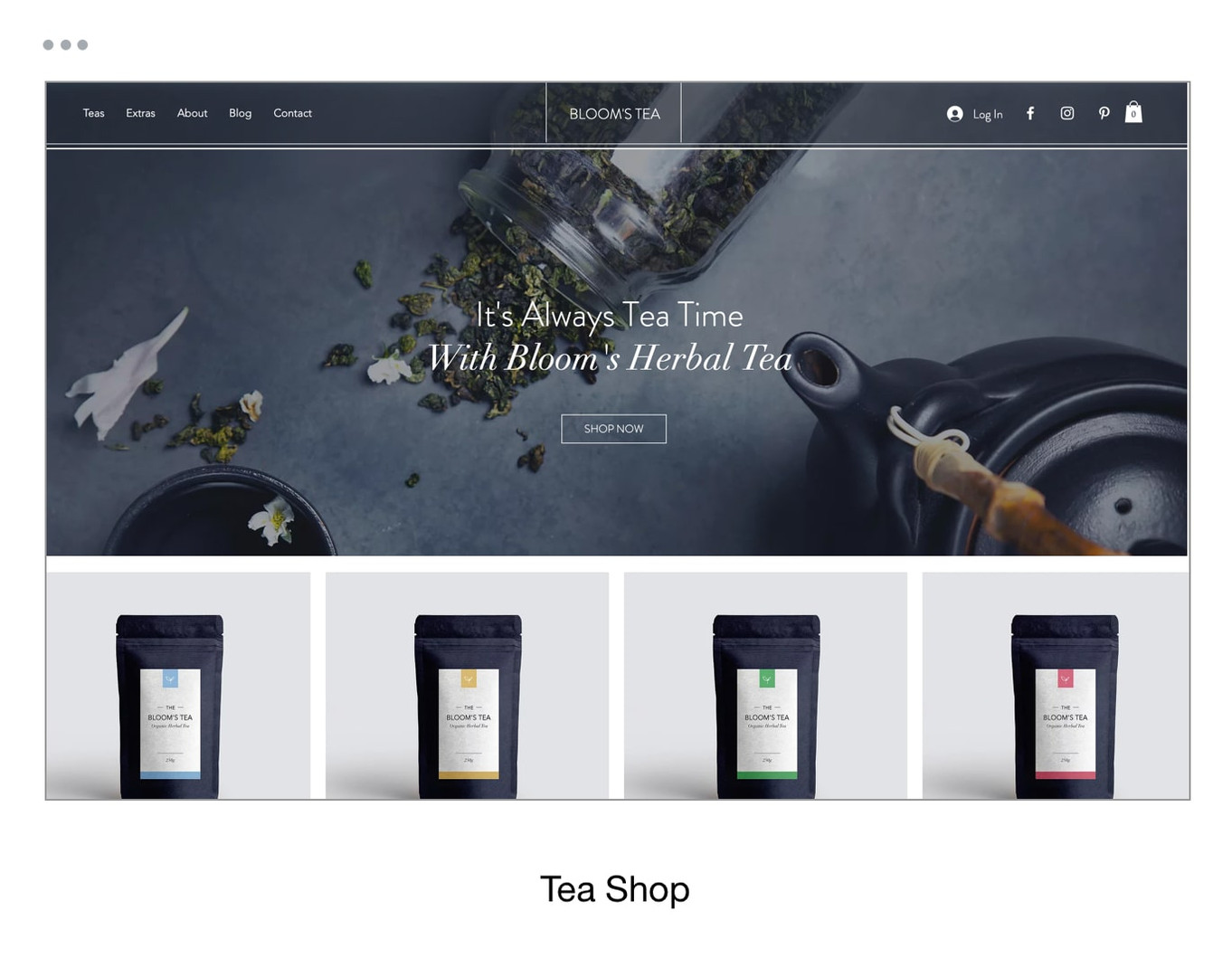 Tea Shop Template