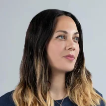 Headshot of Gali Erez, head of product for Editor X.