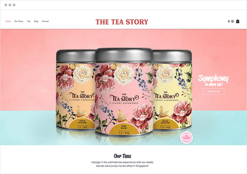 The Tea Story | Loja Virtual
