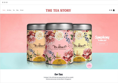 The Tea Story | E-shop