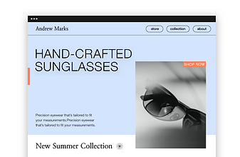 An online store for designer sunglasses.An online store for designer sunglasses.