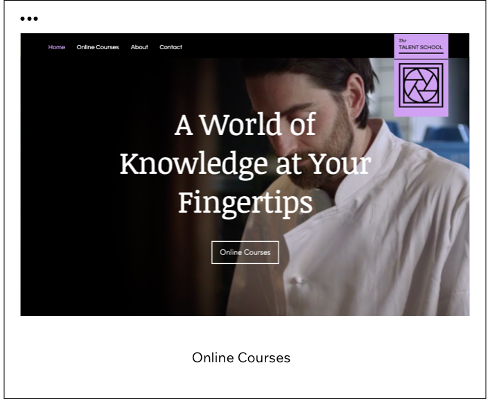Online Courses Template