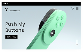 Video game accessories website