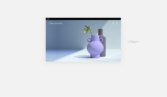 手作り花瓶のウェブサイト