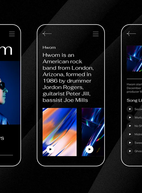 Designing for dark mode is more than a black background