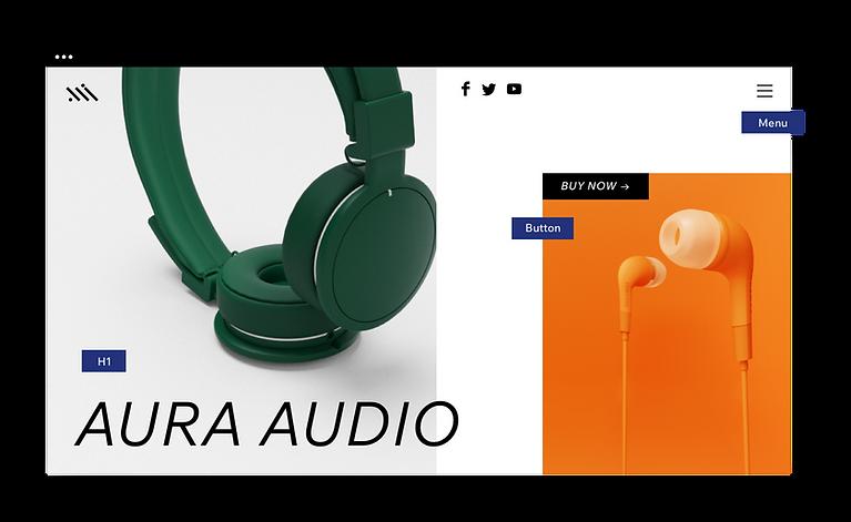 Headphones website