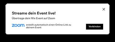 Streame deine Veranstaltung live