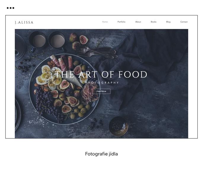 Fotografie jídla