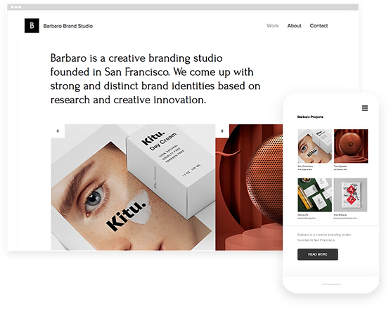 Brand Studio Website