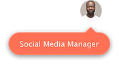 image of the social media manager of the site