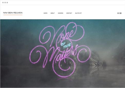 Nim Ben-Reuven | Artista di lettering e produttore