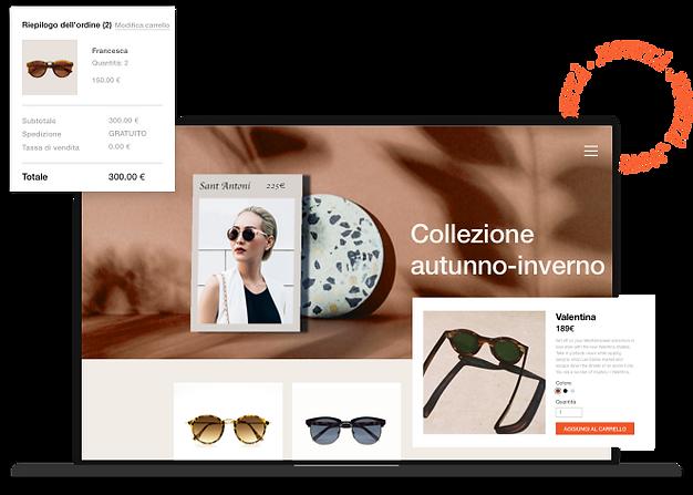 Piattaforma eCommerce Wix