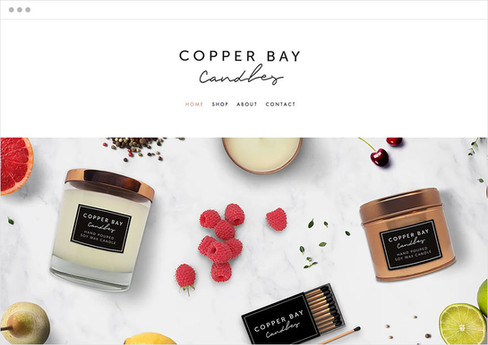 Copper Bay Candles | Loja Virtual