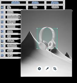 Un database di informazioni creato utilizzando Corvid di Wix